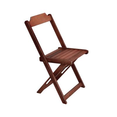 Cadeira Prime De Madeira Encosto Anatomico - Imbuia