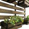Suporte Para Flores E Plantas Vertical Madeira 80x90 Imbuia Claro
