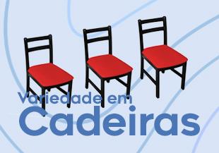 Variedade em Cadeiras