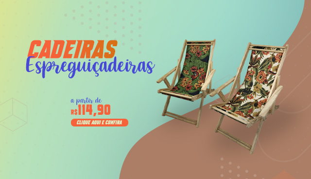 Cadeiras Espreguiçadeiras